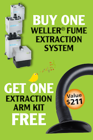 Weller Fume Exraction Promotion