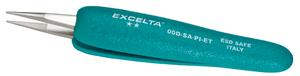 Excelta 00D-SA-PI-ET 5.25inch Straight Strong Tweezer With Ergo Grips