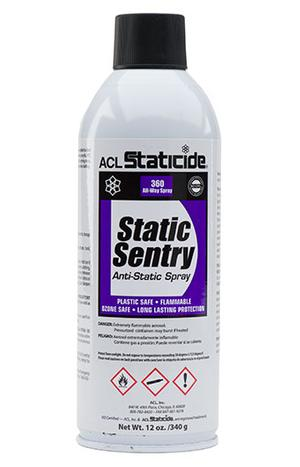 ACL 2006 Static Sentry Anti-Static Spray 12oz.