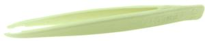 Excelta 234 4.5inch CTFE Chemical Resistant Tweezer With .10inch Tips