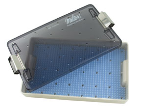 Miltex 3-200100 Sterilization Trays, Single Layer 7in. x 11in. x 1.5 in.