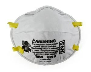 3M 8210 N95 Particulate Masks 20/Box 10 Boxes/Case