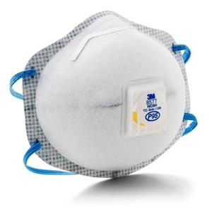 3M™ Particulate Respirator 8577, P95 with Nuisance Level Organic Vapor Relief