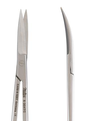 Miltex 5-304TC Iris Scissors 4½ in.