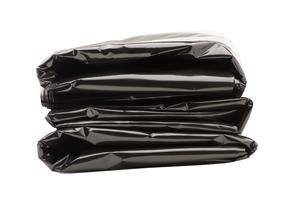 ACL 5076B Anti-Static Black Trash Can Liner 24in. x 34in.