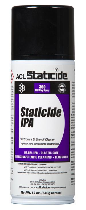 ACL 8625 Staticide® IPA Pure Anhydrous Isopropyl Alcohol