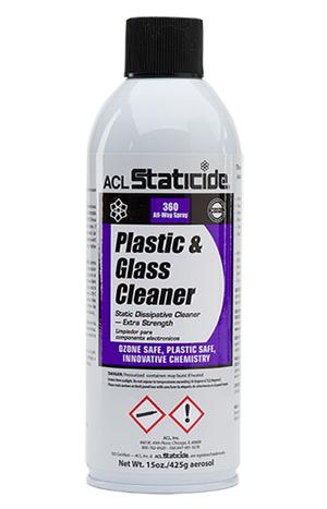 ACL 8670 Anti-Static Plastic and Glass Cleaner 15oz.