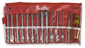 Xcelite 99PR 14 piece Series 99 Multi-purpose Nutdriver And Screwdriver Set