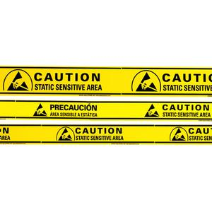 Static Solutions AT-4054 ESD Sensitive Aisle Warning Tape