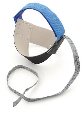 Botron Heel Grounder B7500 Blue Ergo One Velcro 1 Megohm