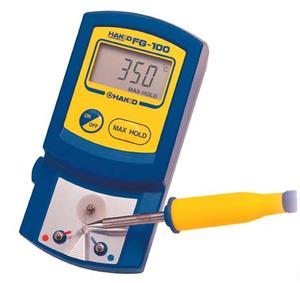 Hakko FG100-02, Thermometer, °F up to 932°F.
