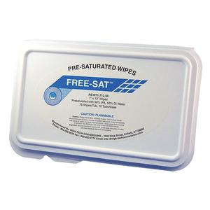 FS-NT1-712.50 Pre-Saturated Cleanroom Wipes – 7×12