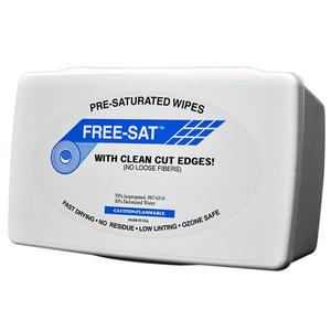 FS-NT1-712 Pre-Saturated Cleanroom Wipes – 7×12
