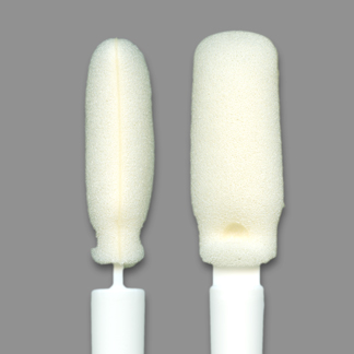 FoamTec HT1090-100 CleanWIPE Swab Tip Close Up