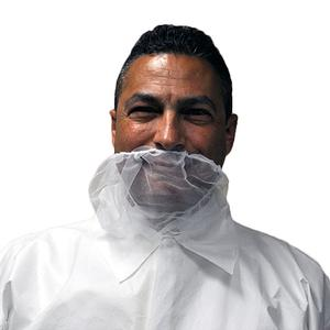GAH-BRD-WH Polypropylene Beard Covers White