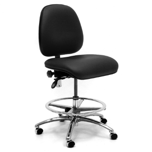 GIBO KODAMA CLASS 100 ESD CHAIR, LOW BENCH HEIGHT