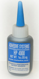 ASI HP400-10 HP Rubber Toughened Black Cyanoacrylate Adhesive