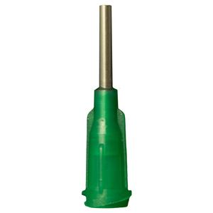 Jensen Global JG14-0.5 14 gauge 1/2in IT Dispensing Tip Olive 1000/Bag