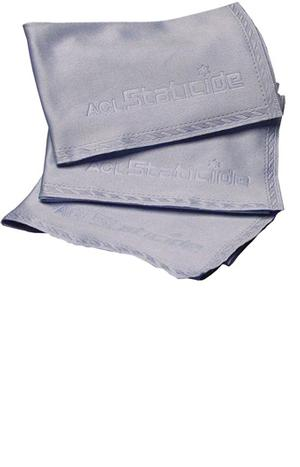 ACL MFC1 Staticide Blue Microfiber Cloth 9in. x 9in.