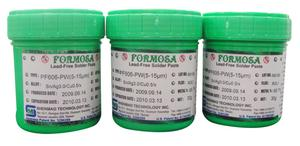 Shenmao PF606-PWA-T3J Type 3 SAC305 Lead-Free Water-Soluble Solder Paste 500g Jar