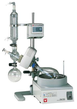 Yamato RE-200-100A, Rotary Evaporator, Standard Diagonal Type A Glassware