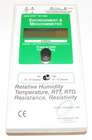 Static Solutions RT-1020 Digital Display Megohmmeter No Accessories