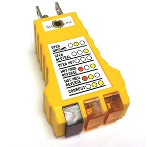 Static Solutions SP-101 Electrical Ground Checker/Grounding Plug