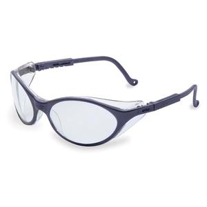 Uvex Bandit Safety Glasses - Blue Frame - Clear Anti-Fog Lens S1620X